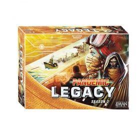 Z - MAN GAMES PANDEMIC LEGACY: SEASON 2 YELLOW EDITION