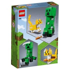LEGO® Minecraft™ 21156 - BigFig Creeper™ and Ocelot