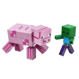 LEGO® Minecraft™ 21157 - BigFig Pig with Baby Zombie