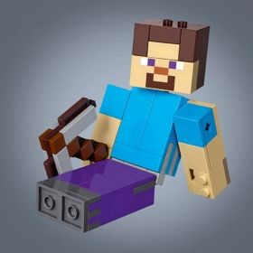 LEGO® Minecraft™ 21148 - Steve BigFig with Parrot