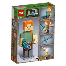 LEGO® Minecraft™ 21149 - Alex BigFig with Chicken