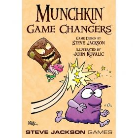 MUNCHKIN  - GAME CHANGERS - EXPANSION