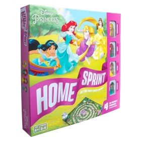 Настолна игра Disney Princess - Home Sprint
