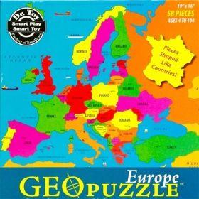 GEO PUZZLE - EUROPE