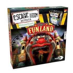 """Настолна игра Escape Room - Добре дошли във """" Funland""""(разширение)"""