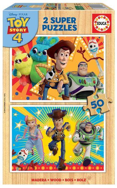 Пъзел от 2 x 50 части Educa - Играта на играчките 4