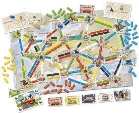 Настолна игра Ticket to Ride Първото пътешестие - Европа