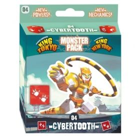 Разширение за King of Tokyo/King of New York - Cybertooth Monster Pack