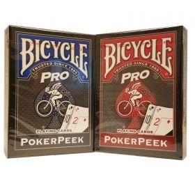 Карти за игра Bicycle Poker Peek Pro
