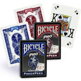 Карти за игра Bicycle Poker Peek Pro