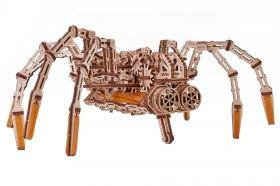 Механичен 3D пъзел Wood Trick - Космически паяк, 245 части