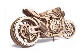 Механичен 3D пъзел Wood Trick - Мотор D.M.S., 203 части