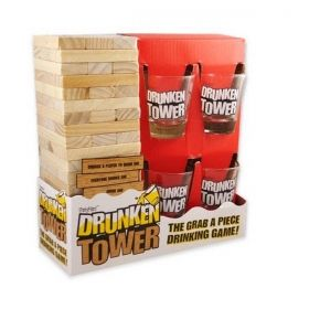 Парти игра Drunken Tower - Дженга