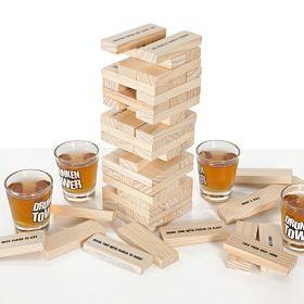 Парти игра Drunken Tower - Дженга