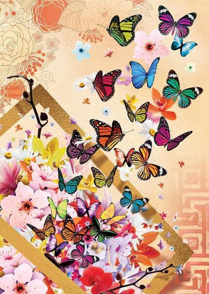 Пъзел Art Puzzle от 500 части - Пролетен бриз, Ерен Малчок