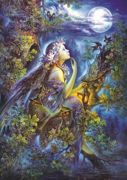 Пъзел Art Puzzle от 1000 части - В моите сънищата, Надя Стрелкина