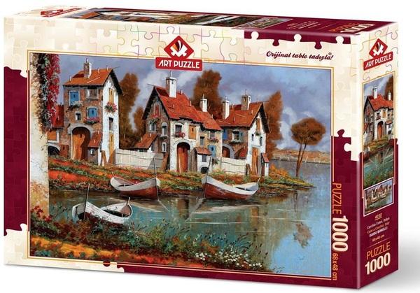 Пъзел Art Puzzle от 1000 части - Случай в Черчио, Италия, Гуидо Борели