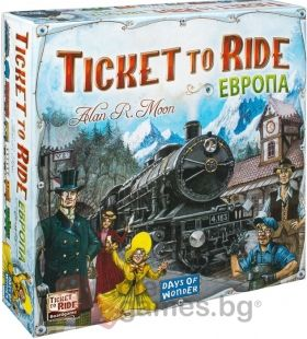 Настолна игра Ticket to Ride - Europe
