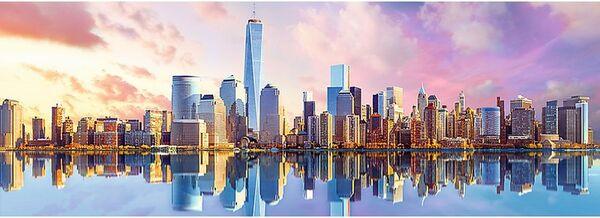 Панорамен пъзел Trefl от 1000 части - Манхатън