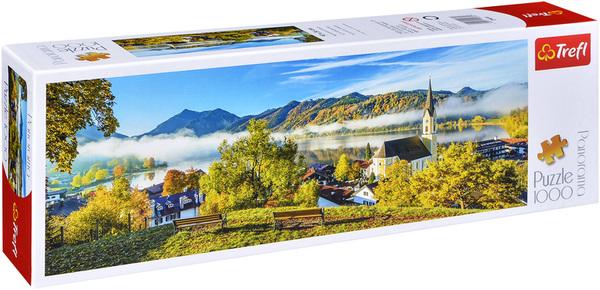 Панорамен пъзел Trefl от 1000 части - Езерото Шлирзе