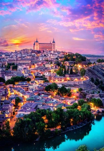 Пъзел Trefl от 1500 части - Толедо, Испания