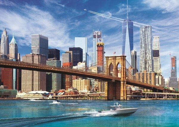 Пъзел Trefl от 500 части - Гледка от Ню Йорк
