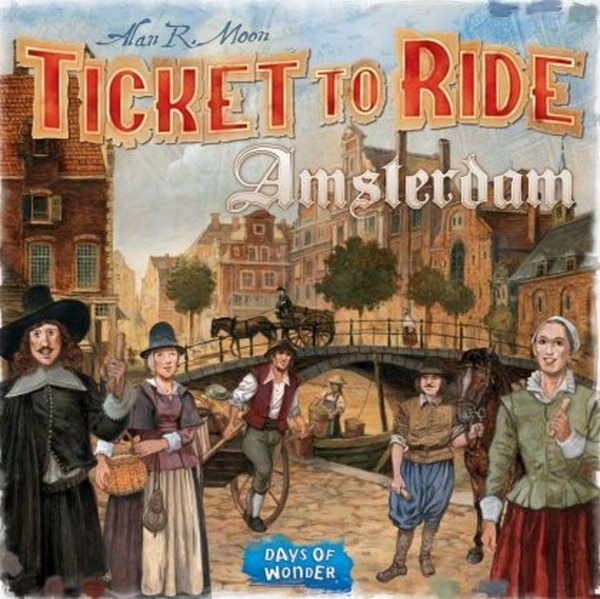 Настолна игра Ticket to Ride - Amsterdam
