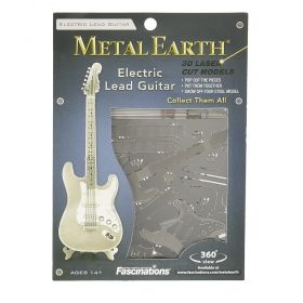 Метален 3D пъзел Metal Earth - Електрическа соло китара