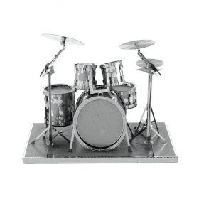 Метален 3D пъзел Metal Earth - Барабани