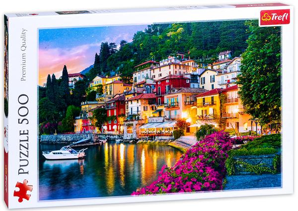 Пъзел Trefl от 500 части - Езерото Комо, Италия