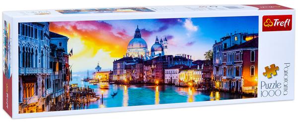 Панорамен пъзел Trefl от 1000 части - Канал Гранде, Венеция