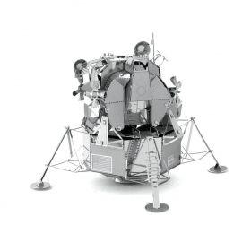 Метален 3D пъзел Metal Earth - Лунният модул Аполо
