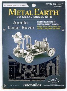 Метален 3D пъзел Metal Earth - Луноходът Аполо