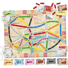 Настолна игра Ticket to Ride - London