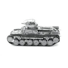 Метален 3D пъзел Metal Earth - Японски танк Chi Ha