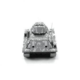 Метален 3D пъзел Metal Earth - Съветски танк T-34