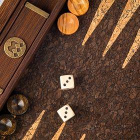 Дървена табла Manopoulos Корк 30x20 см.