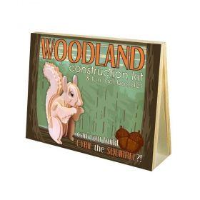 Дървен 3D пъзел Professor Puzzle Woodland, Катерица