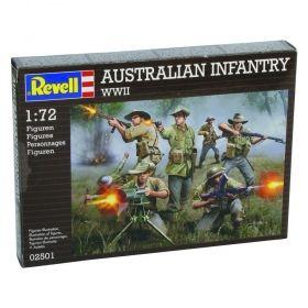 Войници от австралийската пехота - Сглобяеми модели Revell