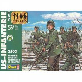 Войници от американската пехотна войска - Сглобяеми модели Revell