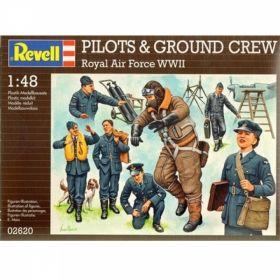 Пилоти и войници на британските ВВС - Сглобяеми модели Revell