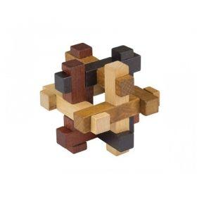 Комплект 3D дървени пъзели Professor Puzzle, Chest, 6 бр.