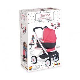 Детска количка за кукли Smoby, сива