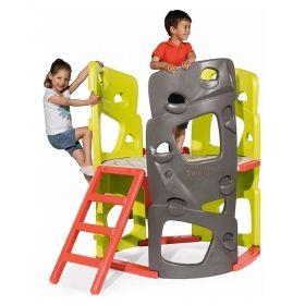 Детска пързалка Smoby, червена