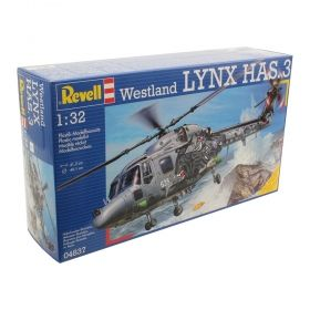 Вертолет Уестленд LYNX HAS.3 - Сглобяем модел Revell