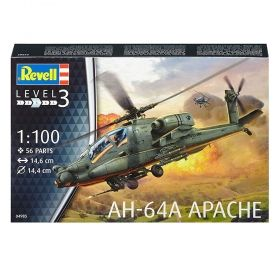 Вертолет Боинг AH-64A Апаче - Сглобяем модел Revell