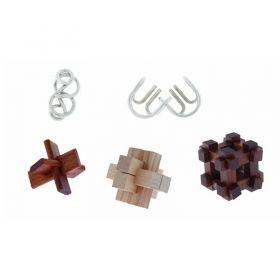 Комплект 3D пъзели Professor Puzzle, 5 бр.