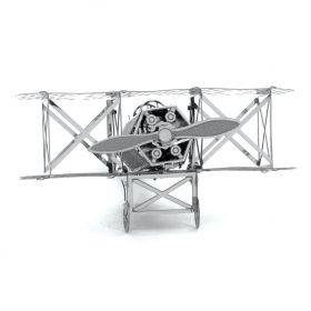 Метален 3D пъзел Metal Earth - самолет Fokker D-VII