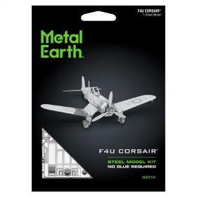 Метален 3D пъзел Metal Earth - самолет F4U Corsair