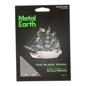 Метален 3D пъзел Metal Earth - Черната Перла
